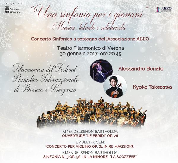 UNA SINFONIA PER I GIOVANI - Musica, talento e solidarietà