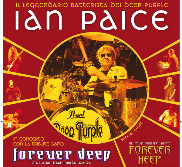 IAN PAICE AND FOREVER DEEP