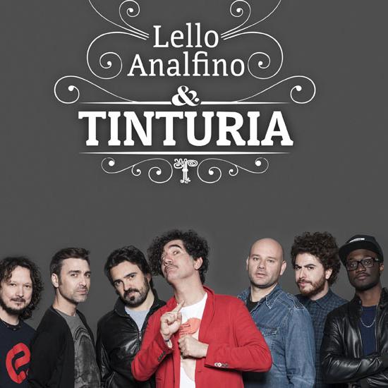 Verona Folk 2016: Lello Analfino e Tinturia - Special guest: Roy Paci