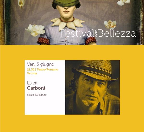 LUCA CARBONI , Teatro Romano 5 GIUGNO
