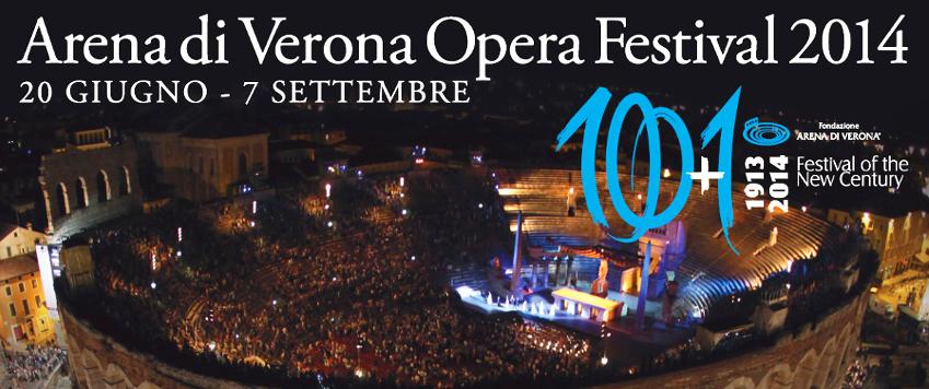 Arena di Verona Opera Festival 2014