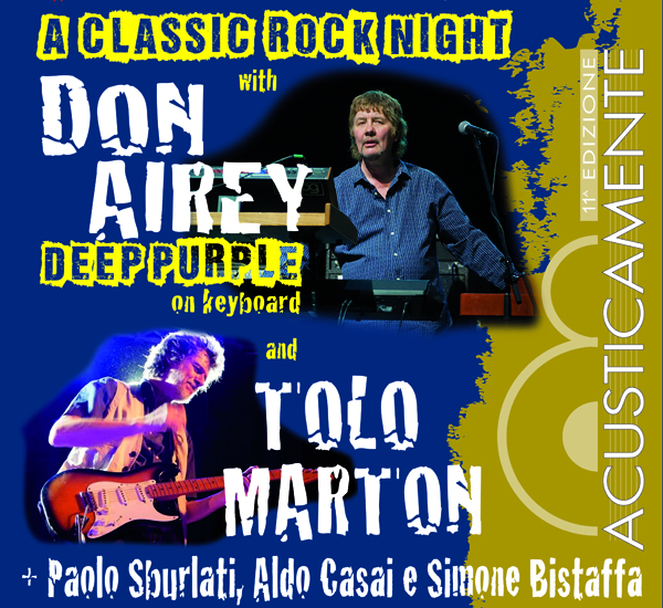 DON AIREY AND TOLO MARTON