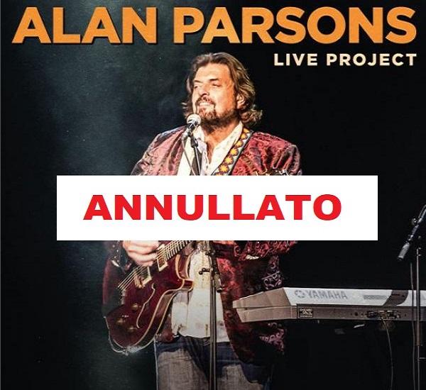 ALAN PARSONS - LIVE PROJECT TOUR 2021