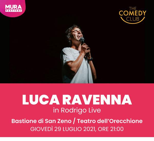 LUCA RAVENNA in Rodrigo Live
