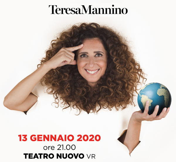 TERESA MANNINO in SENTO LA TERRA GIRARE