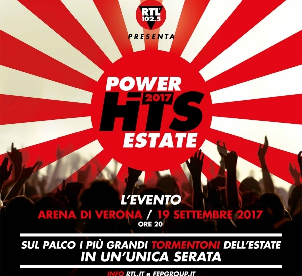 POWER HITS ESTATE 2017 - RTL 102.5