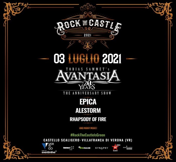 ROCK THE CASTEL 2021 - AVANTASIA