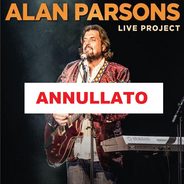 ALAN PARSONS - LIVE PROJECT TOUR 2020 - ANNULLATO