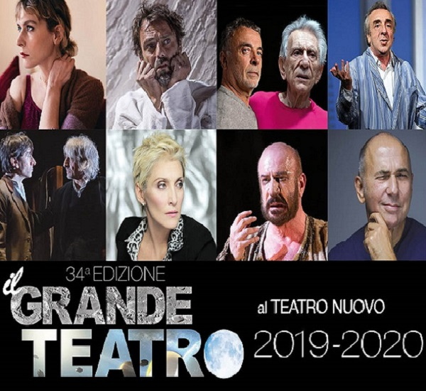 IL GRANDE TEATRO - STAGIONE 2019/2020 - SPETTACOLI ANNULLATI