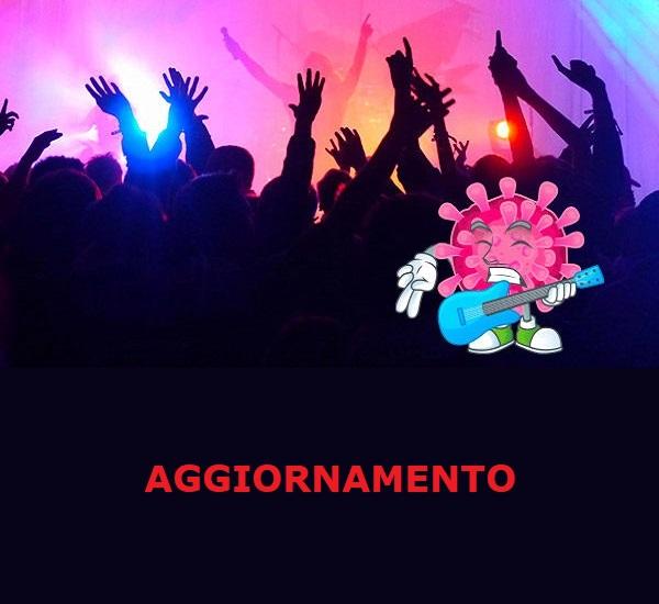 AGGIORNAMENTO RIMBORSI EVENTI ANNULLATI CAUSA COVID19