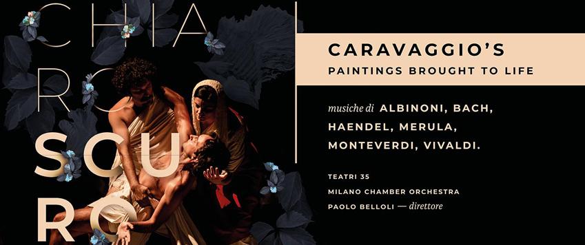 Chiaro scuro, Caravaggio's