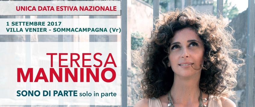 TERESA MANNINO - SONO DI PARTE SOLO IN PARTE